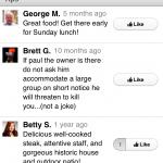 tripadvisor vs. foursquare