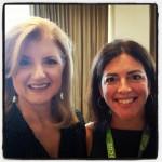 Lisa and Arianna Huffington